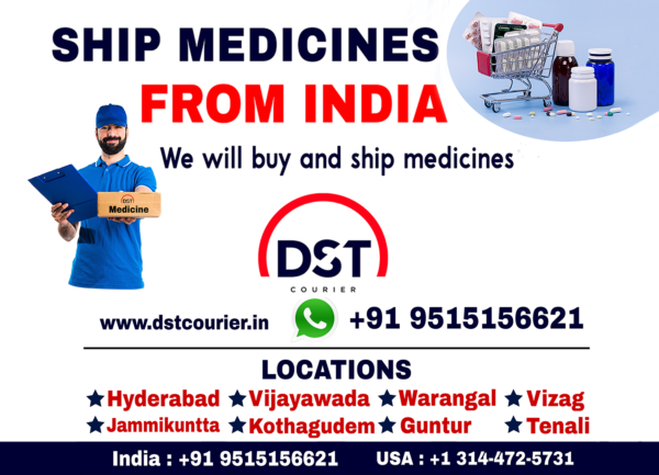 Shipping Medicine to Canada from India